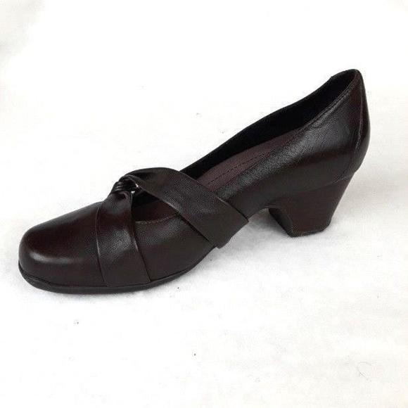 6adab3d12a1 Clarks Shoes - Clarks Active Air Shoes Pumps Heels 6.5 Leather